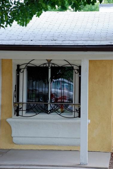 Lemon Meringue Window