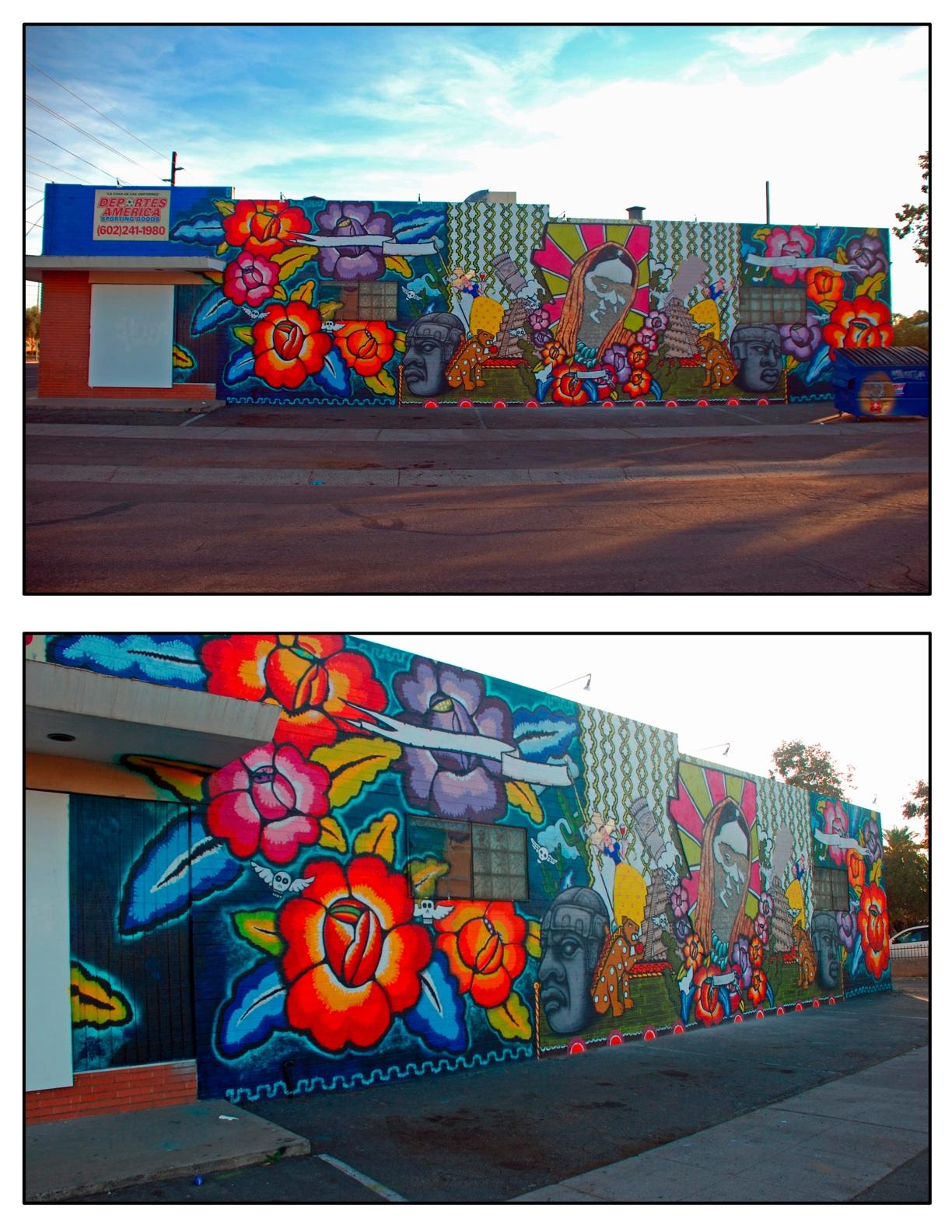 Calle 16 glenrosa journeys for Calle 16 mural project