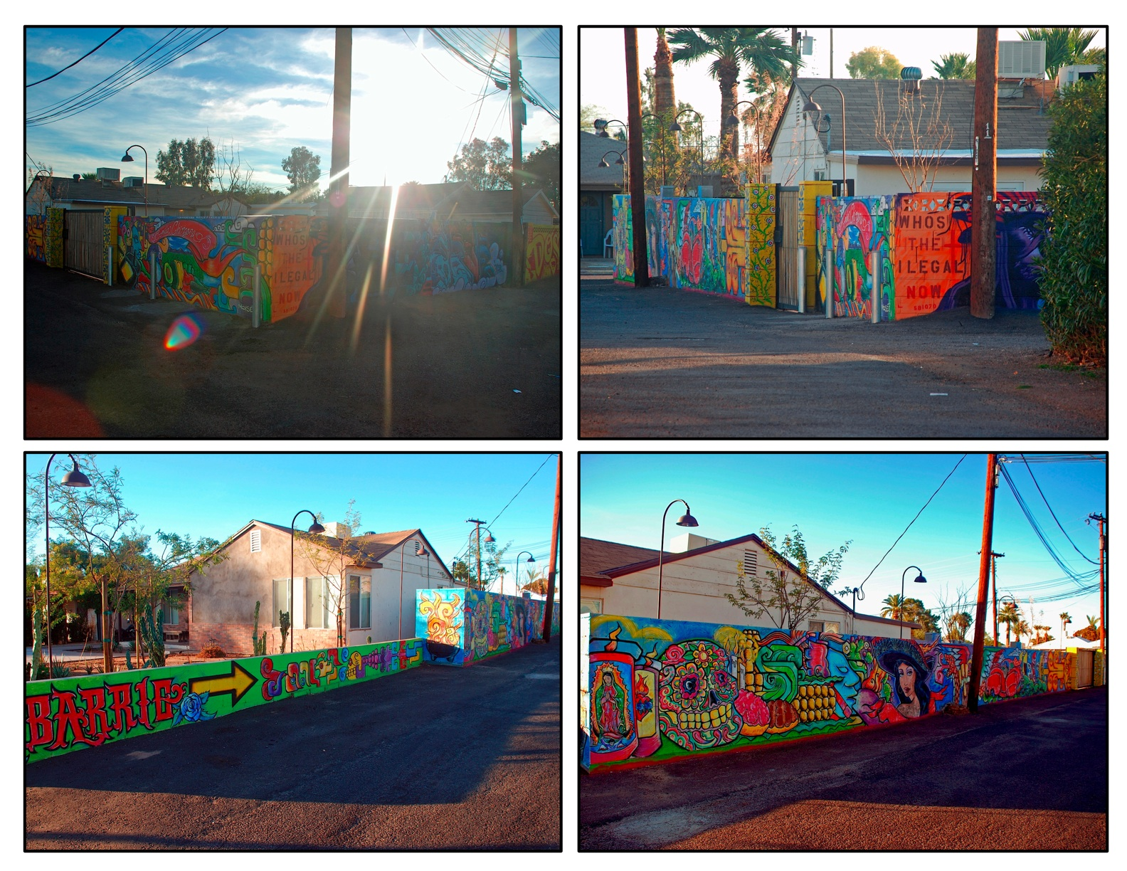 Calle 16 glenrosa journeys for Calle 16 mural project