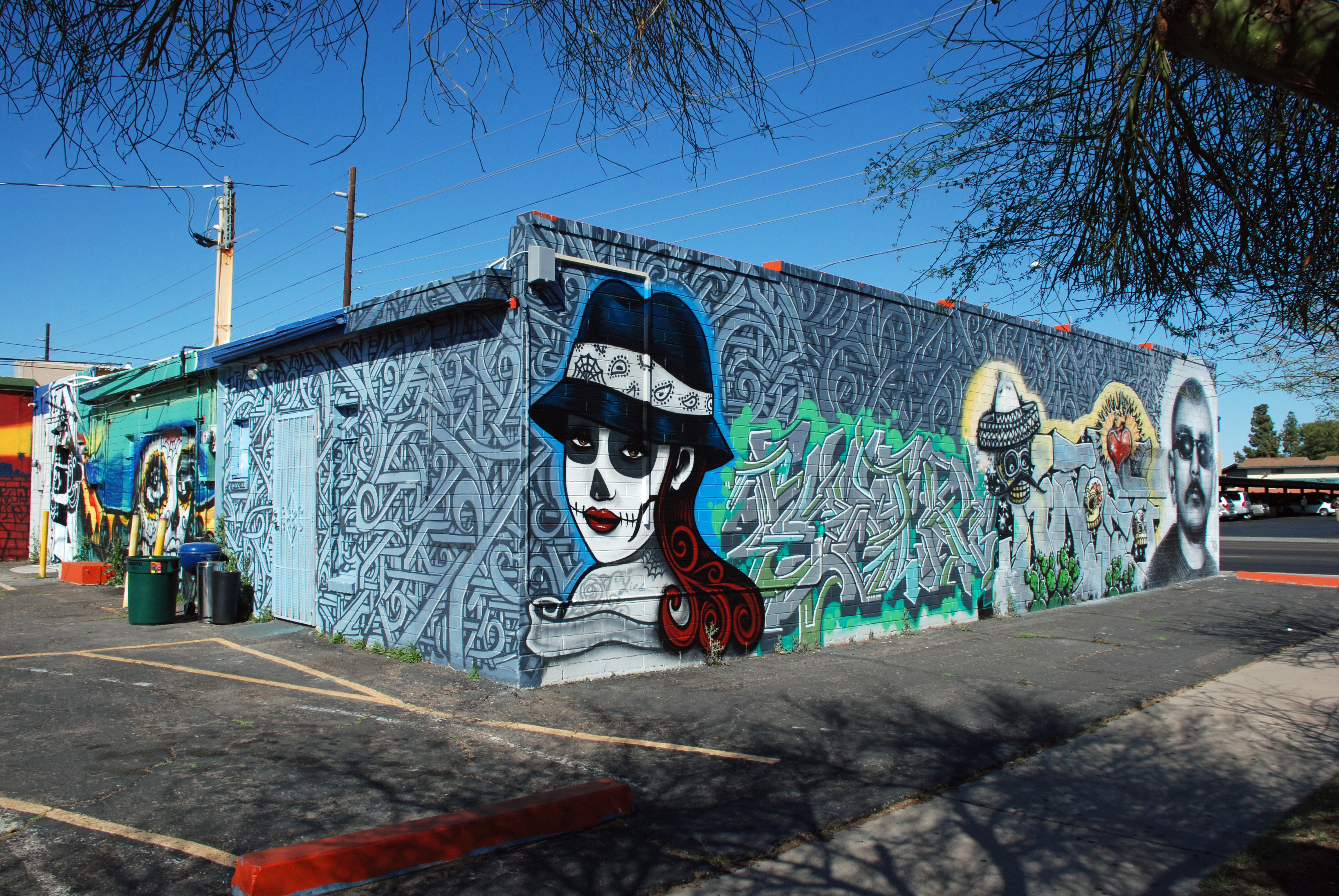 Calle 16 flourishes glenrosa journeys for Calle 16 mural project