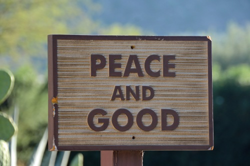 Peace and Good
