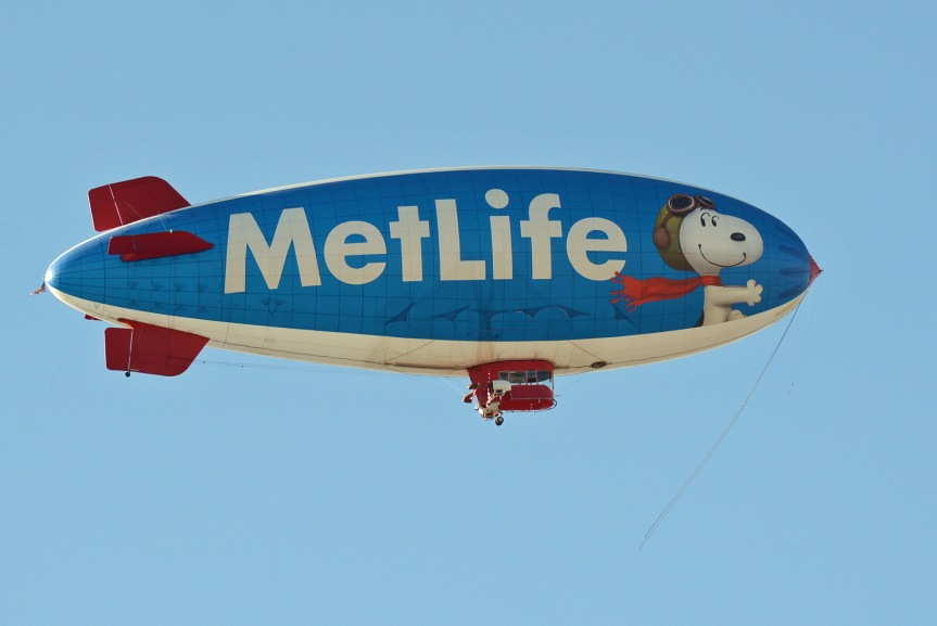 Snoopy Blimp