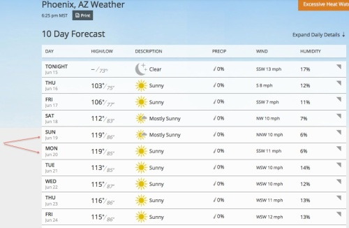 Weather 10 Day