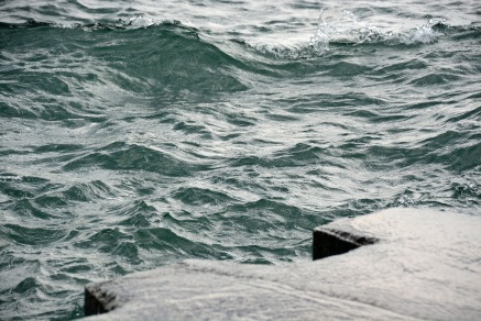 Waves on Pier