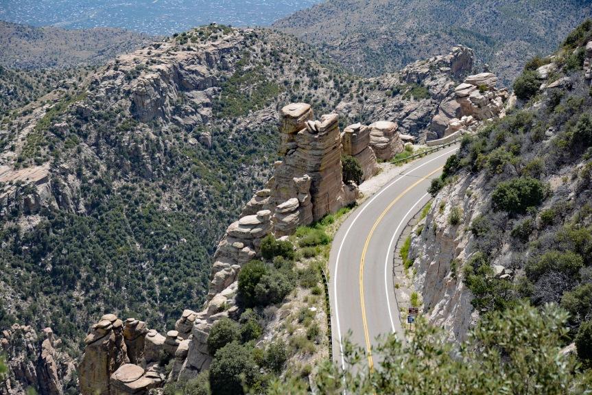 Geology Vista Point Closeup